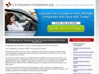 carinsurancecomparison.org Thumbnail