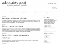 adequatelygood.com