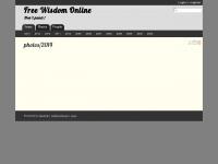 Free Wisdom Online: photos/2013