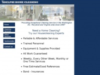 adelphihomecleaning.com