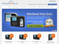 Web Based Employee Time Clocks - WirelessTimeClock.com