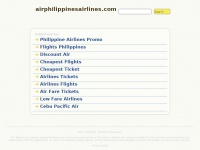 airphilippinesairlines.com