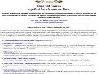 largeprintreviews.com