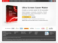Ultra Screen Saver Maker - Create a screensaver in 10 seconds! - Finalhit