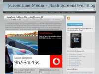 Screentime Media – Flash Screensaver Blog - Flash Screensavers Created With Screentime for Flash