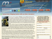 Auto Shippers Rate Calculator | Free No Obligation Quotes