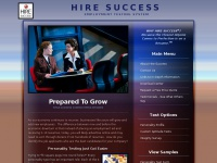 HIRE SUCCESS EMPLOYMENT TESTING SYSTEM