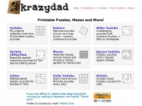 Krazydad.com - Printable Puzzles by KrazyDad