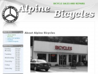 Bicycle Sales And Repairs - About Alpine Bicycles