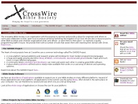 crosswire.org Thumbnail