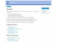 numpy.org