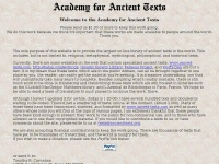 ancienttexts.org