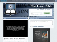 blueletterbible.org Thumbnail