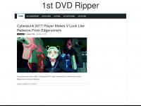 1st DVD Ripper, DVD Copy / Ripper tool to AVI/iPod, DVD to iPod/MP4/AVI/VCD/SVCD/DivX