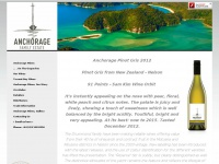 anchoragewines.co.nz Thumbnail