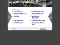 angryproxy.info Thumbnail