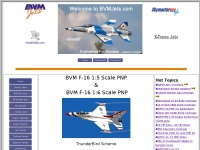 Bvmjets.com - Welcome to Bob Violett Models