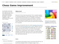 Chess Game Improvement - A website that features free articles to inspire players about chess and to teach the keys to the learning process.