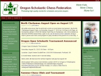Oregon Scholastic Chess Federation | Promoting High Quality Competition and Events for Scholastic and Junior Players