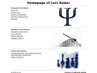 Homepage of Lars Balzer