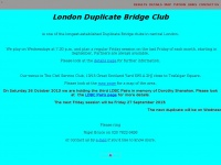 londonduplicatebridge.co.uk