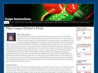 craps-instructions.com