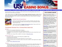 US Online Casino Guide by USACasinobonus.com