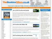 thebookiesoffers.co.uk Thumbnail