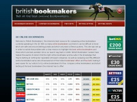 britishbookmakers.co.uk Thumbnail