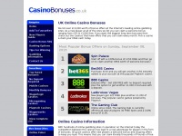 casinobonuses.co.uk Thumbnail