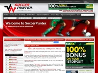 SoccerPunter.com - A breakthrough in soccer predictions