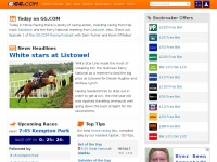 Horse racing tips, race cards, results and free bet offers | GG.COM
