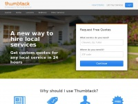 Thumbtack.com - Thumbtack - Accomplish your personal projects