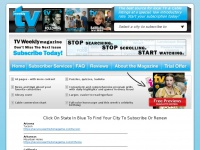 Iwantmytvmagazine.com - TV Weekly Magazine - The best source for local TV & cable listings at a special, low introductory rate.