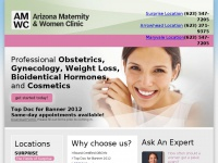 arizonamaternityclinic.com