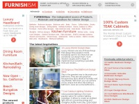 FURNISHism - the independent source of Products, Materials and Inspirations for Interior Design