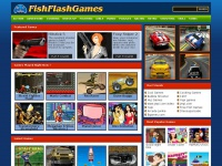 Free online games to play @ FishFlashGames.com