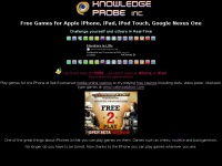 Free Games for Mobile Devices like Apple iPhone, iPod, iPad | Google Nexus One | Free Applications for iPod Touch | Multi-Player