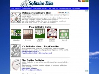 Solitairebliss.com - Solitaire Bliss - Free Solitaire, Spider Solitaire and Freecell Games