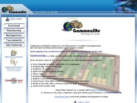 Gammonsite.com - GammonSite Online Backgammon Community Play in Tournaments and Leagues!