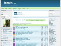 Leenks.com - Your daily dosage of links