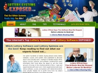 lotterysystemsexposed.com