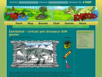 Exhibited-sim.com - Exhibited!– Virtual Pet Dinosaurs!
