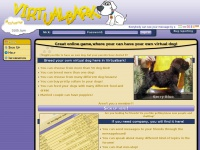 Virtualbark - Great online game,where your can have your own virtual dog!
