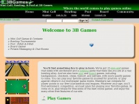 3bgames.com - Mini Golf Games | Bowling | Pool