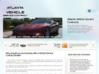 Your Vehicle Service Contract Source a.k.a. Auto Warranties - Get Your NO Obligation Quote Today in Atlanta