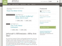 Jehovah's Witnesses: Watchtower Society Official Web Site
