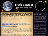 Truthcontest.com - The Truth Contest | What is the Ultimate Truth?