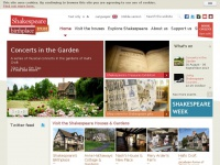 shakespeare.org.uk Thumbnail