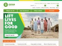 oxfam.org.uk Thumbnail